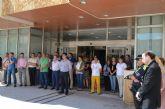 Minuto de silencio en el Ayuntamiento por el atentado de Niza