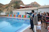 López Miras inaugura la piscina municipal de Ojós