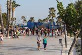 El parque del Mar Reyes de España se transforma en un espacio de ocio familiar al aire libre en Lo Pagán