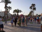 Inauguración del remodelado parque del Mar Reyes de España en Lo Pagán