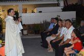 Los vecinos del barrio del Carmen torreño celebraron un año más el santo de su patrona