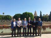 Turismo se reúne con el Cabildo de Cofradías para encarar la promoción turística de la Semana Santa de Murcia a nivel nacional e internacional