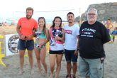 Ayer se celebraba en la playa de Calarreona de Águilas el primer torneo de Voley playa