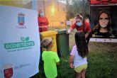 En marcha los talleres de reciclaje para los más pequeños todos los viernes de los 'veranos de barrio'