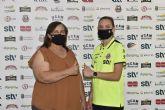 Almudena Pagán seguirá defendiendo la portería del STV Roldán
