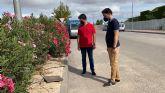 El Ayuntamiento procede a la reparación del cableado sustraído en Roldán