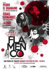 El XXV Festival Flamenco de San Pedro del Pinatar reúne a Pedro el Granaíno, Israel Fernández y La Fabi