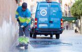 El PSOE considera 'absolutamente necesario' volcarse con la limpieza viaria en pedanías y hacerlo 'de verdad'
