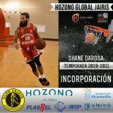 El jugador Shane DaRosa, nueva incorporación del Hozono Global Jairis