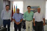 El alcalde destaca el papel de los agricultores del municipio en la economía local y regional