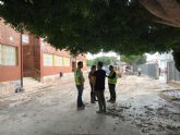 El colegio El Alba de Roldán y el colegio de Los Olmos, permanecerán cerrados mañana lunes
