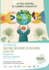 El Ayuntamiento de Molina de Segura presenta la vigésima edición del Programa de Educación Ambiental Molina, Descubre tu entorno