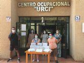 CC Águilas Plaza dona 12 tablets a la asociación URCI