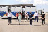 Todos los empleados del transporte público de Cartagena se han incorporado ya a sus puestos de trabajo