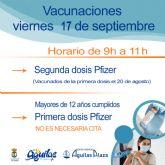 Centro Comercial Águilas Plaza acogerá una nueva jornada de vacunaciones masivas contra la COVID 19 sin cita