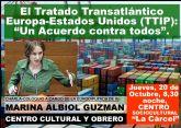 El tratado transatlántico Europa-Estados Unidos, (TTIP), un acuerdo contra todos