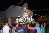 La procesión de la Virgen del Pilar dio por concluidas las fiestas del barrio de la Florida