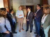 López Pagán denuncia el abandono y la inacción del Gobierno regional con el turismo de interior en el Valle de Ricote