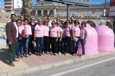 San Pedro del Pinatar se suma a la campaña 'Recicla Vidrio por Ellas' con motivo del Día Mundial del Cáncer de Mama