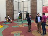 La Comunidad aporta 144.000 euros a la construcción de un parque infantil y renovación de alumbrado en Ceutí