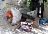 La Guardia Civil detiene in fraganti a dos personas relacionadas con varios robos en viviendas de Moratalla