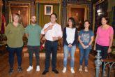 35 alumnos del Coll�ge la Tourette de Lyon pasan unos d�as de intercambio en Mazarr�n