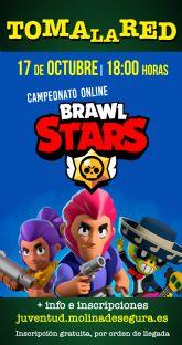 El programa TOMA LA RED de la Concejalía de Juventud de Molina de Segura ofrece el Campeonato BRAWL STARS el sábado 17 de octubre