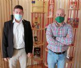 El Ayuntamiento de Molina de Segura conoce la empresa Pastelería Gimar SL, dedicada a la fabricación de productos de repostería, dentro de su agenda de visitas empresariales