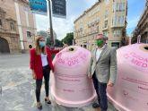 El Ayuntamiento de Murcia y Ecovidrio presentan la campaña solidaria 'Recicla Vidrio por ellas'