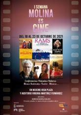 La I Semana MOLINA ES CINE se celebra del 18 al 23 de octubre en Neocine Vega Plaza y Auditorio Virginia Martínez Fernández
