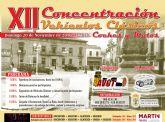 La XII Concentración de Vehículos Clásicos 'Ciudad de Totana' se celebra este domingo, 20 de noviembre, en la plaza de la Constitución