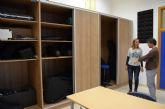 El Ayuntamiento invierte 12.500 euros en la renovación de dos aulas, un armario para instrumentos y material informático en el Conservatorio de Música