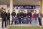 La Policía Local estrena sus primeros chalecos antibalas personalizados