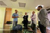 El observatorio de oportunidades de negocio de economía circular Amusal visita el hospital Arrixaca