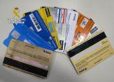 La Guardia Civil detiene en San Javier a un clonador de numeración de tarjetas bancarias