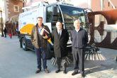 El Ayuntamiento adquiere una nueva barredora de alta gama para reforzar la limpieza viaria