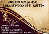 La Banda de Música de El Paretón ofrecerá un concierto de Navidad