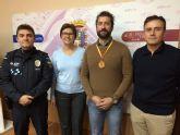 Antonio Guardiola Liz�n, bronce en el Campeonato de España de Defensa Personal Policial