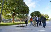 Murcia Río gana terreno con la apertura del nuevo jardín Teniente Flomesta, una prolongación natural de más de 8.200m2