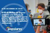 El PP de Molina de Segura propone una batería de medidas para acabar con la brecha digital, e impulsar la digitalización de la sociedad molinense