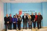 Reuni�n con los miembros fundadores de la asociaci�n agr�cola de c�tricos �Limbraya�
