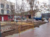 Finalizan las obras de renovaci�n integral del Jard�n Buero Vallejo, en el barrio Tirol-Camilleri