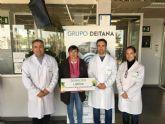 Semilleros Deitana realiza una aportaci�n solidaria de 1.000 euros a D�Genes