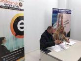 El Ayuntamiento suscribe un convenio con la Asociaci�n de J�venes Empresarios Guadalent�n Emprende