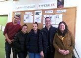 Encuentro de trabajo entre las corresponsales juveniles y el concejal de Juventud