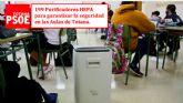 Los filtros HEPA y las mascarillas llegan a las aulas de Totana gracias a las propuestas del Grupo Socialista