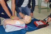 Nuevo curso municipal de prevención de muerte súbita con uso de desfibrilador en Las Torres de Cotillas