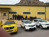 Agricultura pone en marcha una nueva oficina local de agentes medioambientales y base de la brigada forestal en Ricote