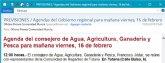 El alcalde lamenta el gesto de 'deslealtad institucional' del consejero de Agua y Agricultura
