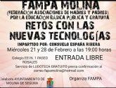 El Ayuntamiento de Molina de Segura colabora con la FAMPA en la organización de dos sesiones de su primera Escuela de Padres y Madres sobre Retos con las nuevas tecnologías los miércoles 21 y 28 de febrero